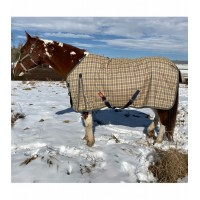 Baker plaid Turnout midweight blanket 200gm