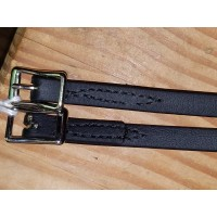 US made biothane english spur straps
