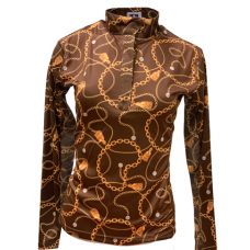 RHC sunshirt brown gold chain
