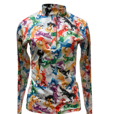 RHC sunshirt multi-color horse
