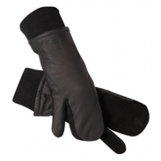 SSG leather riding mitten