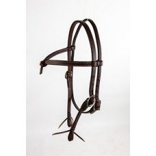 Tory Peak Performance brow-knot headstall