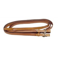 Tory weighted leather reins