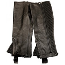 TuffRider Plus full-grain leather 1/2 chaps