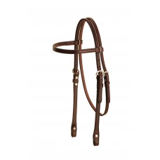 Tory Brow Band Headstall add silver