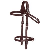 Snap-front Mule Headstall