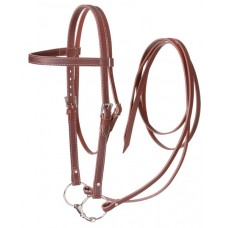 Tough One draft horse western bridle