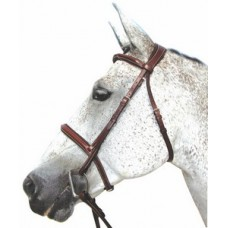 HDR Pro Collection Mono-Crown padded raised hunt bridle