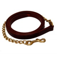 Walsh leather lead chain