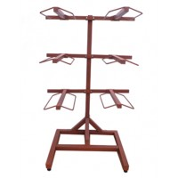 6-arm tack room saddle stand