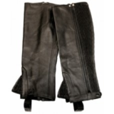 RHC Ladies Plus Size lamb leather 1/2 chaps