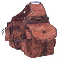 Insulated saddle bags wild prints