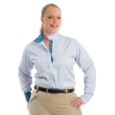 RHC Coolmax Plus Size wrap snap collar show shirt
