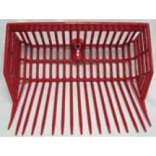 Manure basket fork replacement head
