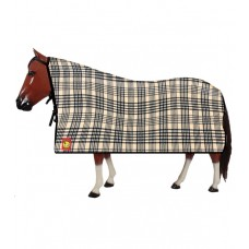 Baker plaid fleece square cooler