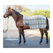 Baker plaid fleece quarter sheet