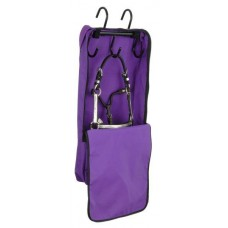 Bridle/halter bag with rack