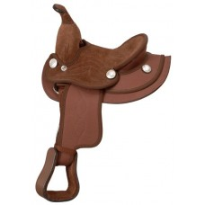 King Mini Western Synthetic Saddle
