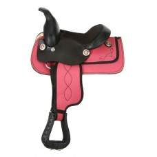 Mini Synthetic Western Saddle