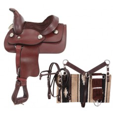 King Mini Western Saddle package