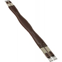M. Toulouse leather overlay girth