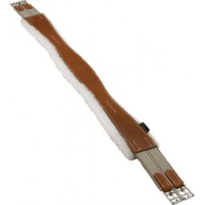 M. Toulouse leather sheepskin-lined girth