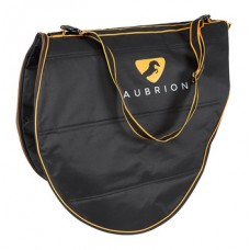 Shires Aubrion black saddle carry bag