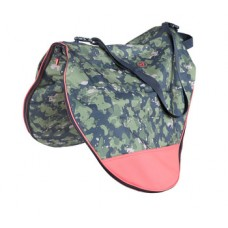 Shires Aubrion Camo saddle carry bag