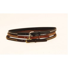 Tory clincher bridle-leather belt