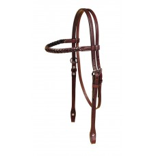 Tory braided brow western headstall