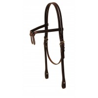 Tory Brow Knot Headstall add silver