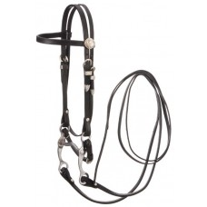 Silver Fox Complete Pony Western Bridle