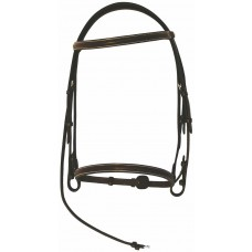 HDR Pro Collection raised hunt bridle