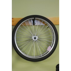 Replacement cart wheel and tire combo
