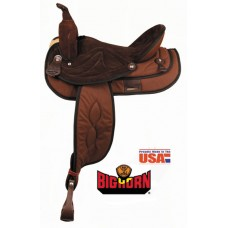 Big Horn synthetic trail saddle