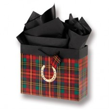Festive Plaid gift bag