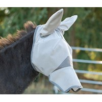 Cashel Long Nose Mule Fly Mask with Ears