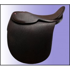 Lovatt & Ricketts Beaufort deep seat cutback saddle